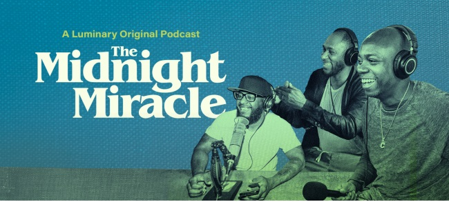 """Listen IMMEDIATELY to """"The Midnight Miracle"""" Podcast"""