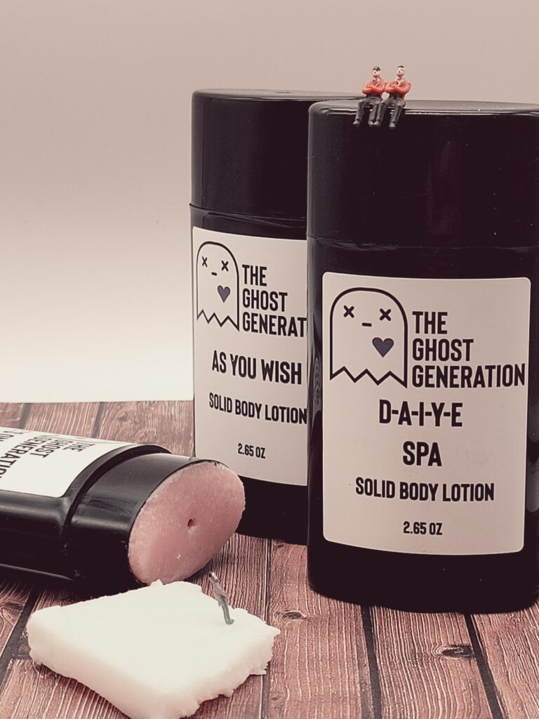 The Ghost Generation Solid Body Lotion Product Photography